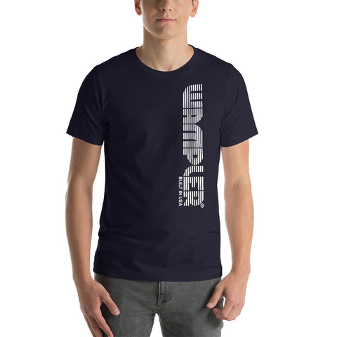 Vertical Retro Short-Sleeve Unisex T-Shirt