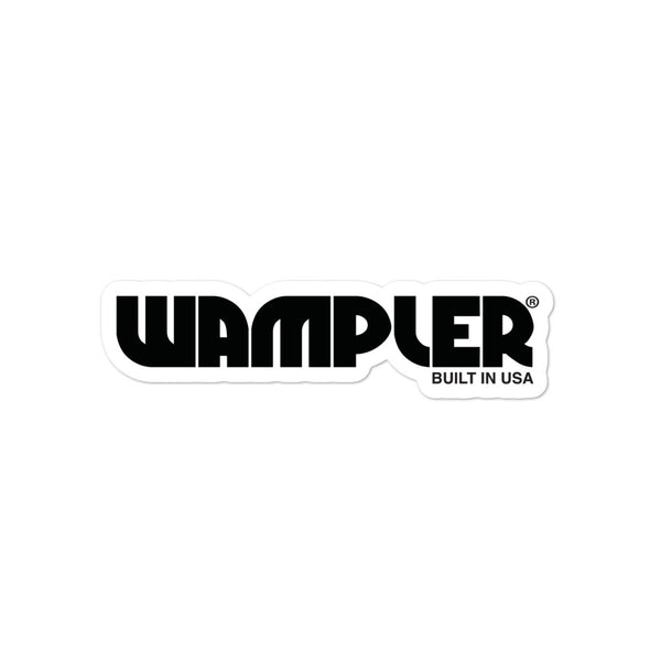 Wampler Logo Bubble-free stickers
