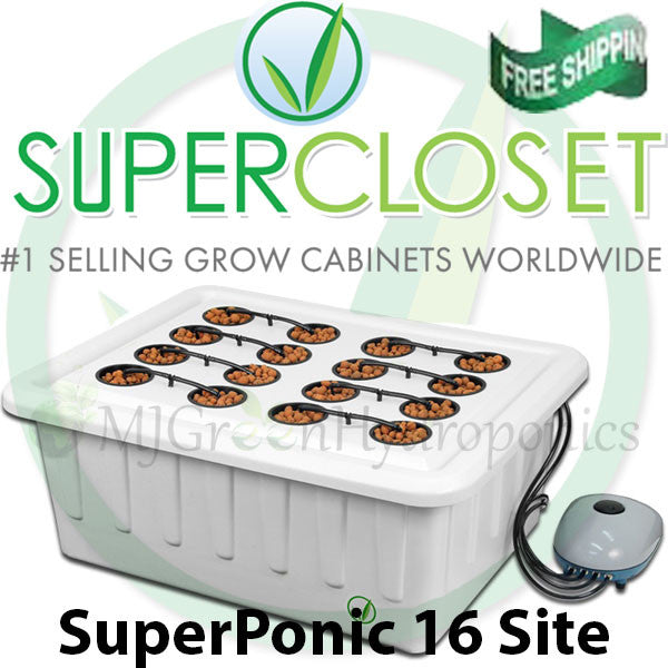 Attrayant SuperClosets   SuperPonics 16 Hydroponic Grow System
