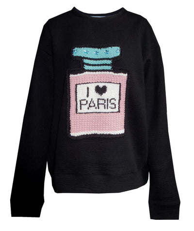 I LOVE PARIS CLASSIC in Black