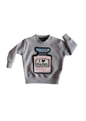 I LOVE PARIS CLASSIC in BLACK for Kids