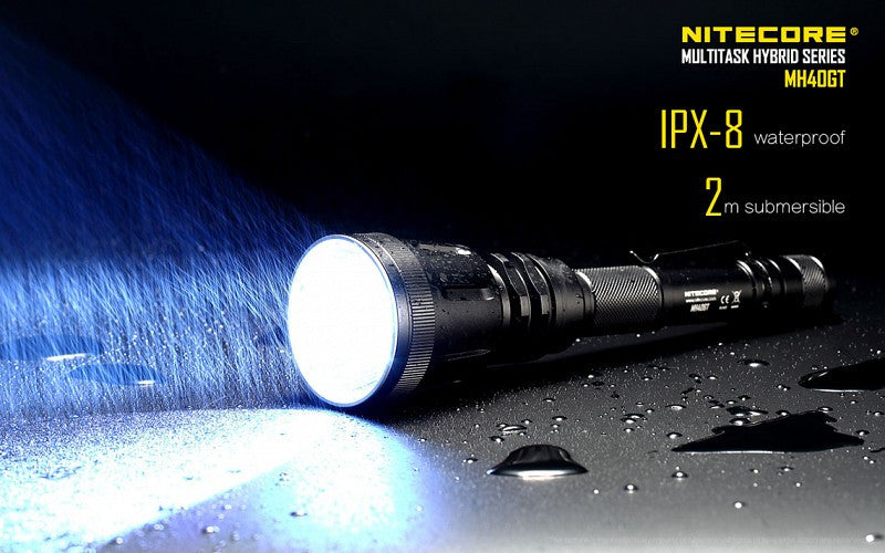 Nitecore MH40GT - 1000 Lumen Led Search Light in India by Nitecore INDIA, Buy Led Flashlight Online
