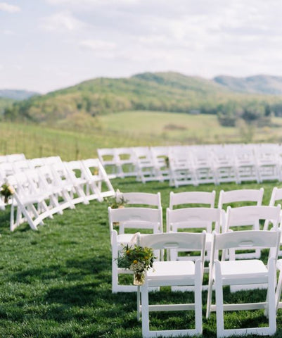 sectioned seating for weddings