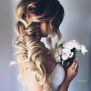 beautiful side braid wedding hairstyles