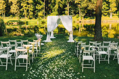 wedding ceremony chairs
