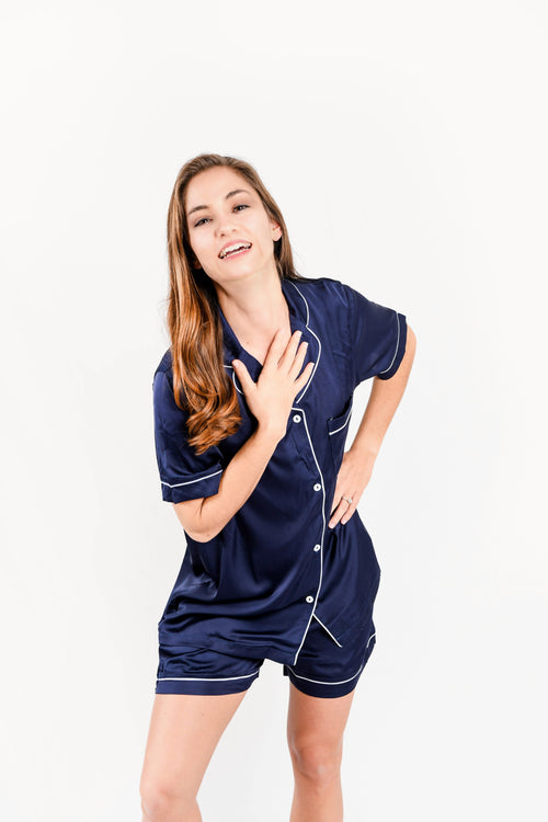 Navy Pajama Set