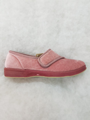 LADIES JEWEL VELCRO SLIPPER