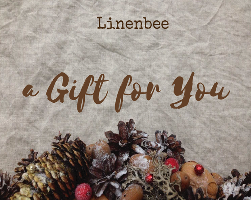 Linenbee Gift Card and a Give-away!