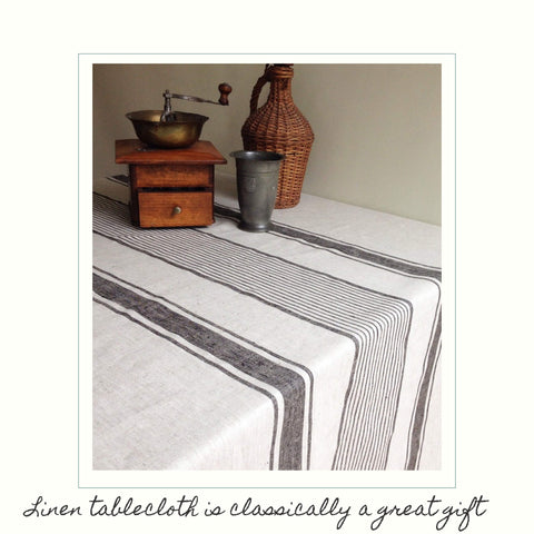 Linen Tablecloth by Linenbee