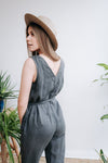 Linen Jumpsuit 'Ivy' Custom Made Based on Your Measurements