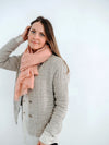 Womens Linen and Wool Jacket 'Alicia', Simple Textured Jacket