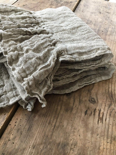 Linen Scarf With Ruffle, Wraps Shawl, Womens Shawl, Linen Shawl, Extra long scarf, Pure linen wraps shawl, Rustic scarf, shawl with ruffle