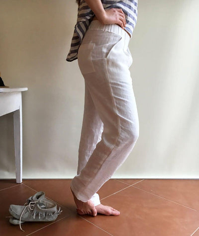 Linen Pants, Linen Trousers, Womens Pants, Womens Trousers, Black Trousers, Beach Pants, White trousers, Pants for Women, Plus Size Pants