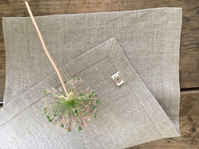Linen Placemats, Cloth Place Mats, Set of 6 Placemats, Natural Placemats, Rustic Placemats, Country Placemats Table placemats grey placemats
