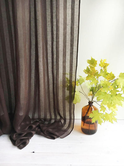 "102"" Wide curtain panel, Linen Curtain-Linenbee"