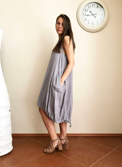 Sleeveless Dress, Loose linen Dress, Sleeveless Tunic Dress, Tunic for women, Plus size tunic, Plus size dress, linen tunics for women