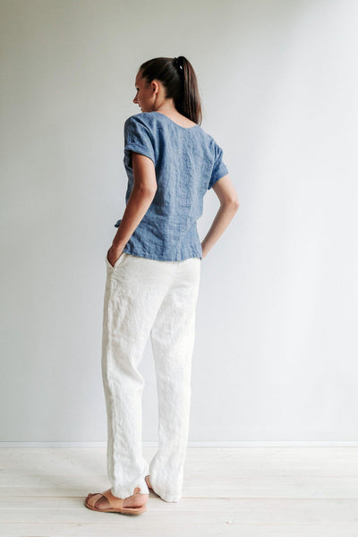 Linen Pants, Linen Trousers, Womens Pants, Womens Trousers, White Trousers, Beach Pants, Pants for Women, Plus Size Pants,