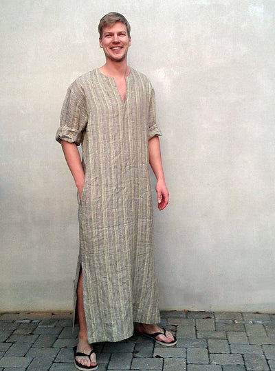 Mens Kaftan, Caftan Men, Mens loungewear, Mens robe Plus size mens clothing, gift for men mens gift boyfriend gift, husband gift Valentines