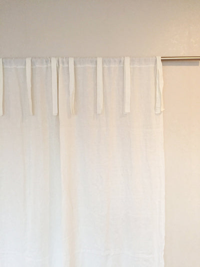 Linen Curtains various colors, Linen Drapes, Window Curtains, long curtains, long drapes, custom linen curtains, linen panel ribbon rod