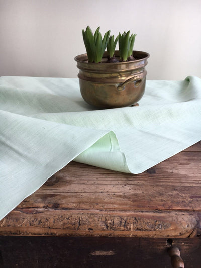 Linen tablecloth, Mint Green linen tablecloth, light green linen tablecloth, rectangle tablecloth, custom tablecloth square easter spring