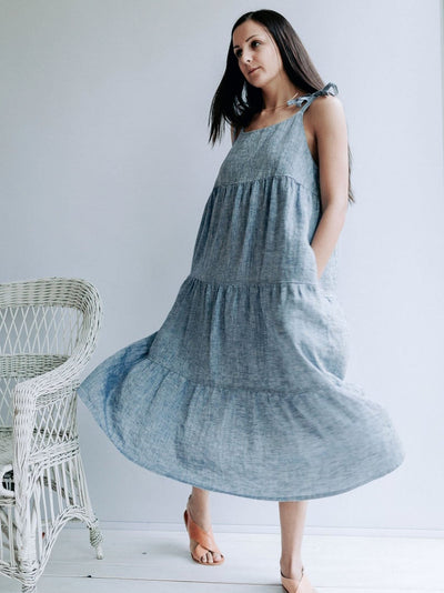 "Ready to Ship:Prairie Dress ""Elle"", Size S"