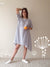 Loose Linen Dress-Linenbee