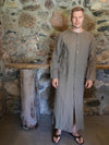 Linen Button up Robe 'Jamie'-Linenbee