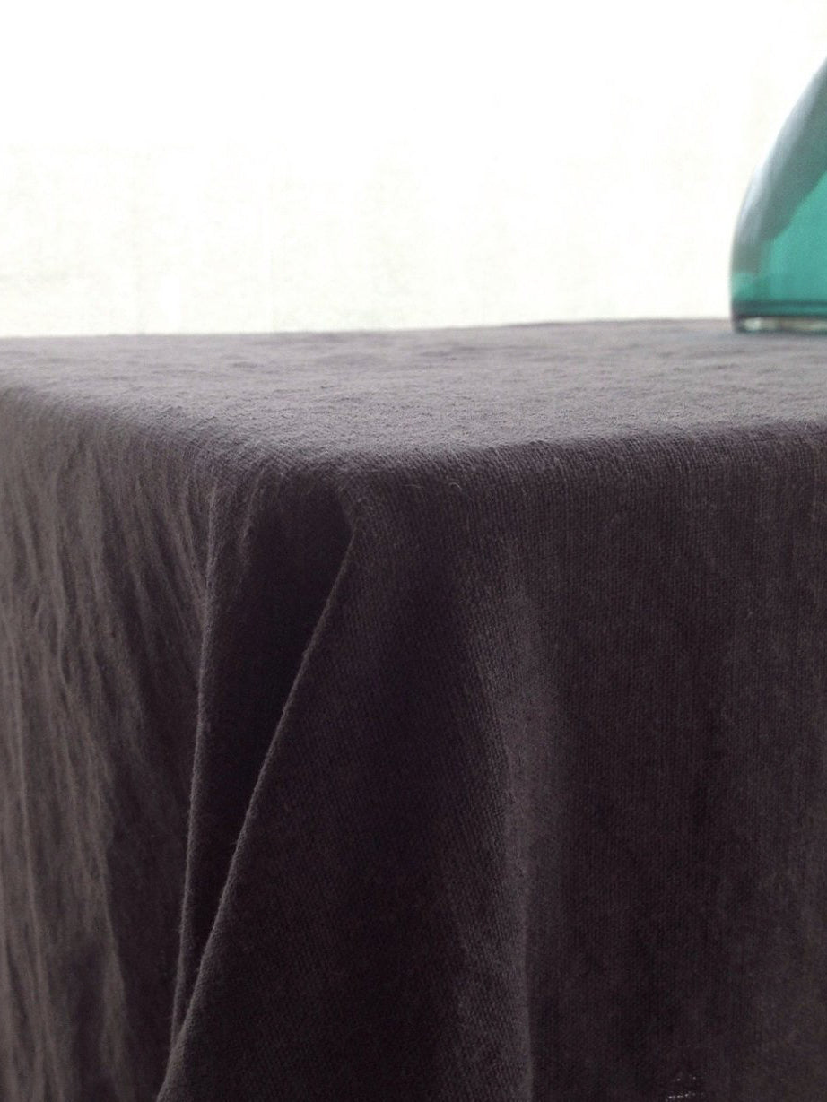 Linen tablecloth, Dark Grey tablecloth-Linenbee