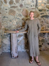 Linen Button up Robe 'Jamie'