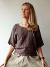 Linen Shirt Women, Shirt with Sleeves-Linenbee