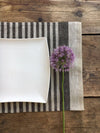 Linen placemats, set of 6 linen placemats-Linenbee