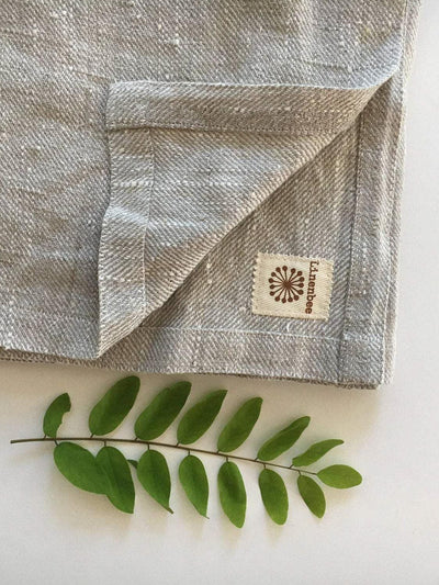 Linen Towels, Set of Bath towel with two face towels-Linenbee