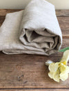 Linen bath towel, natural towel-Linenbee