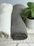 Linen bath towel, textured linen towel-Linenbee