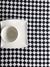 Black and White Checkered Tablecloth, Linen Tablecloth-Linenbee