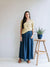 Linen skirts for women, Linen maxi skirt-Linenbee