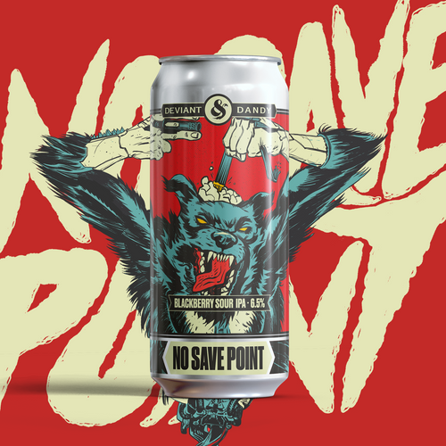 'No Save Point' (Run The Jewels Collab) - Blackberry Sour IPA