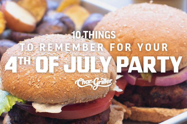 10 Things to Remember for Your Fourth of July Party