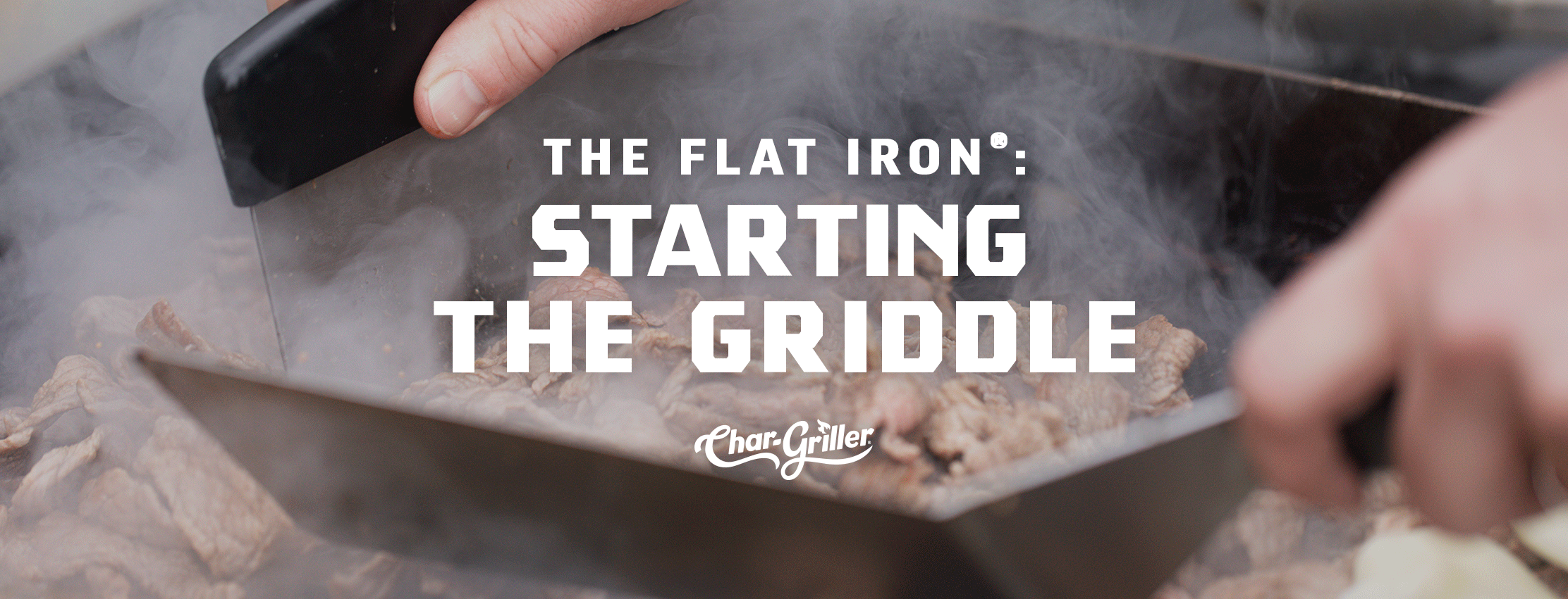 How to Start the Flat Iron® Griddle