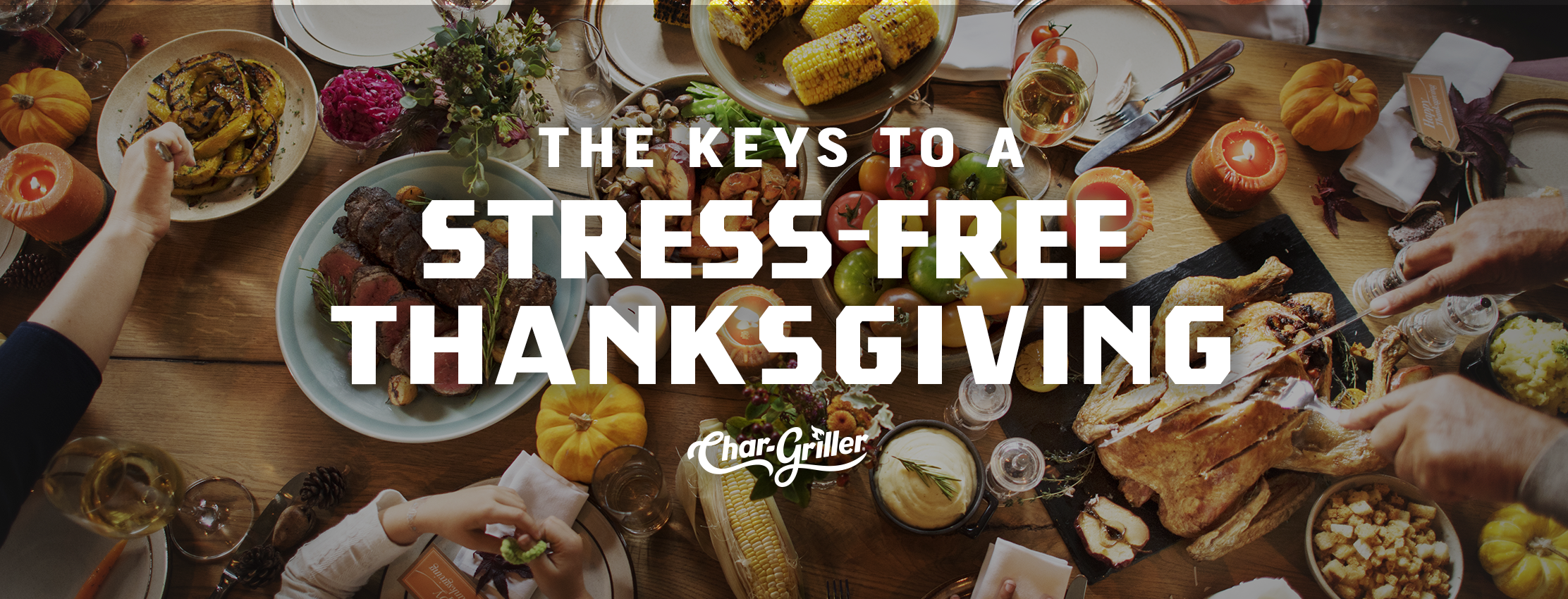 Keys to a Stress-Free Thanksgiving