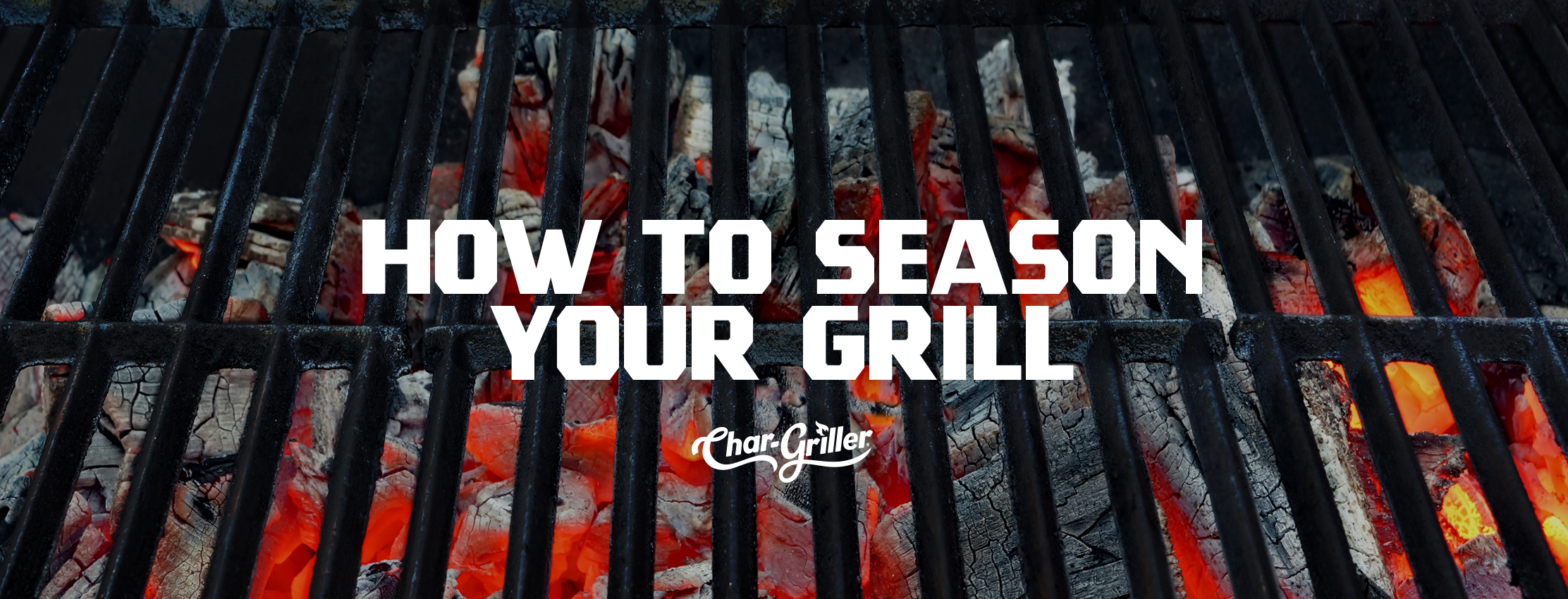 How to Season Your Grill