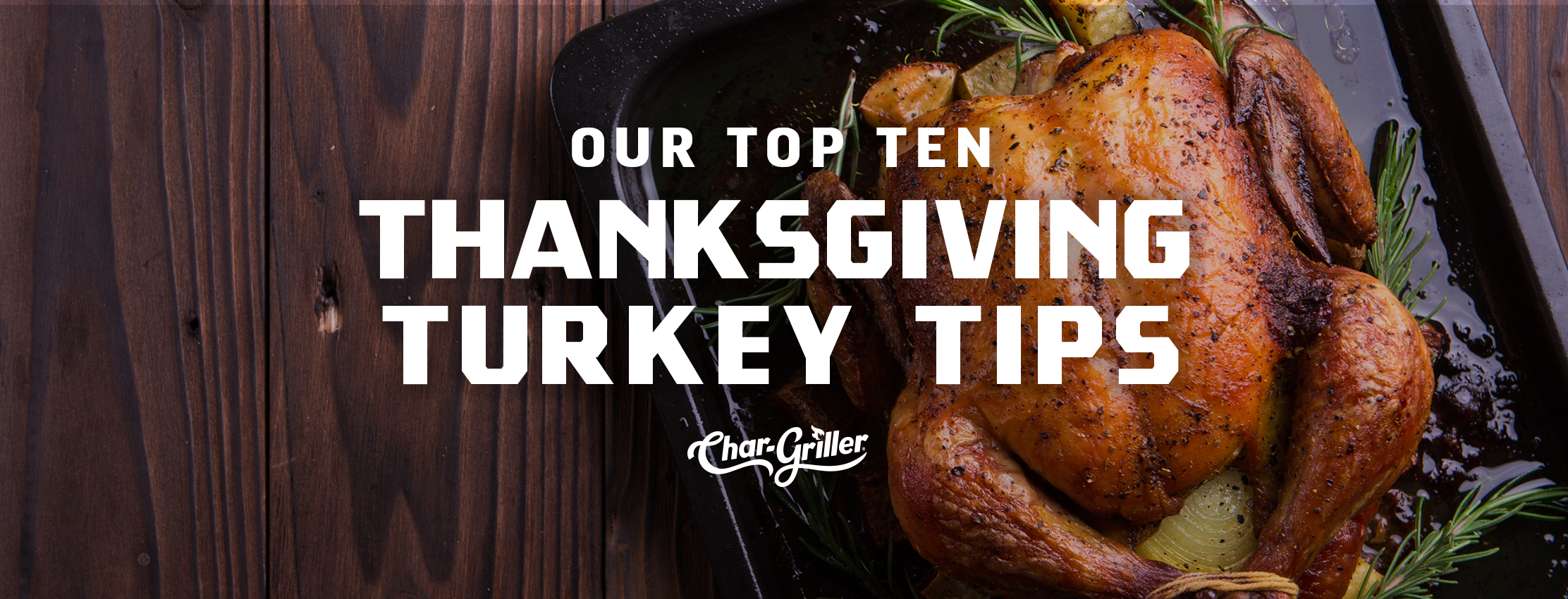 Top 10 Thanksgiving Turkey Tips
