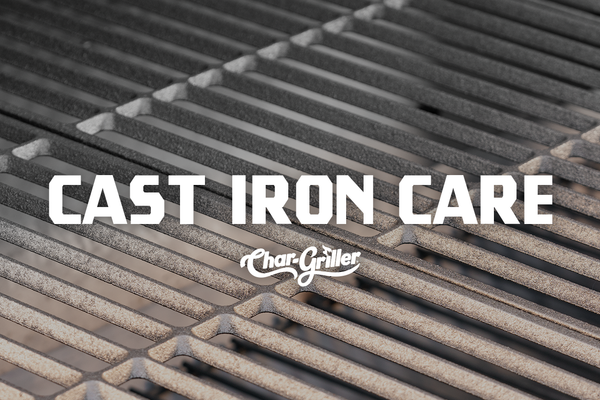 How to Care For Cast-Iron Grill Grates