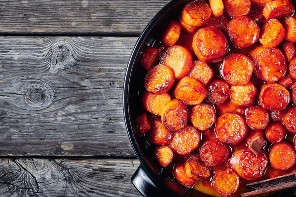 Flat Iron® Candied Sweet Potatoes