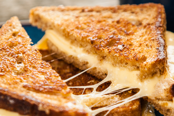 Flat Iron® Artisan Garlic Bread Grilled Cheese