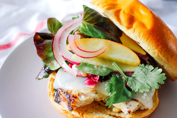 Maple-Dijon Grilled Chicken Sandwich