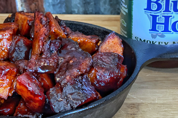 Pork Brisket Burnt Ends