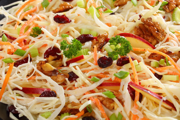 Sweet and Tangy Apple Coleslaw