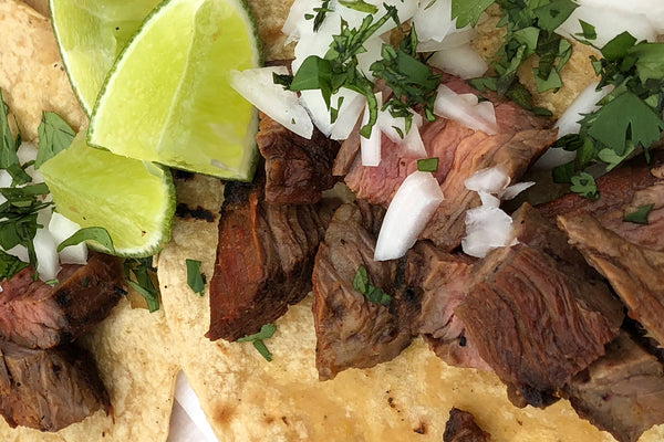 Arrachera/Skirt Steak Tacos