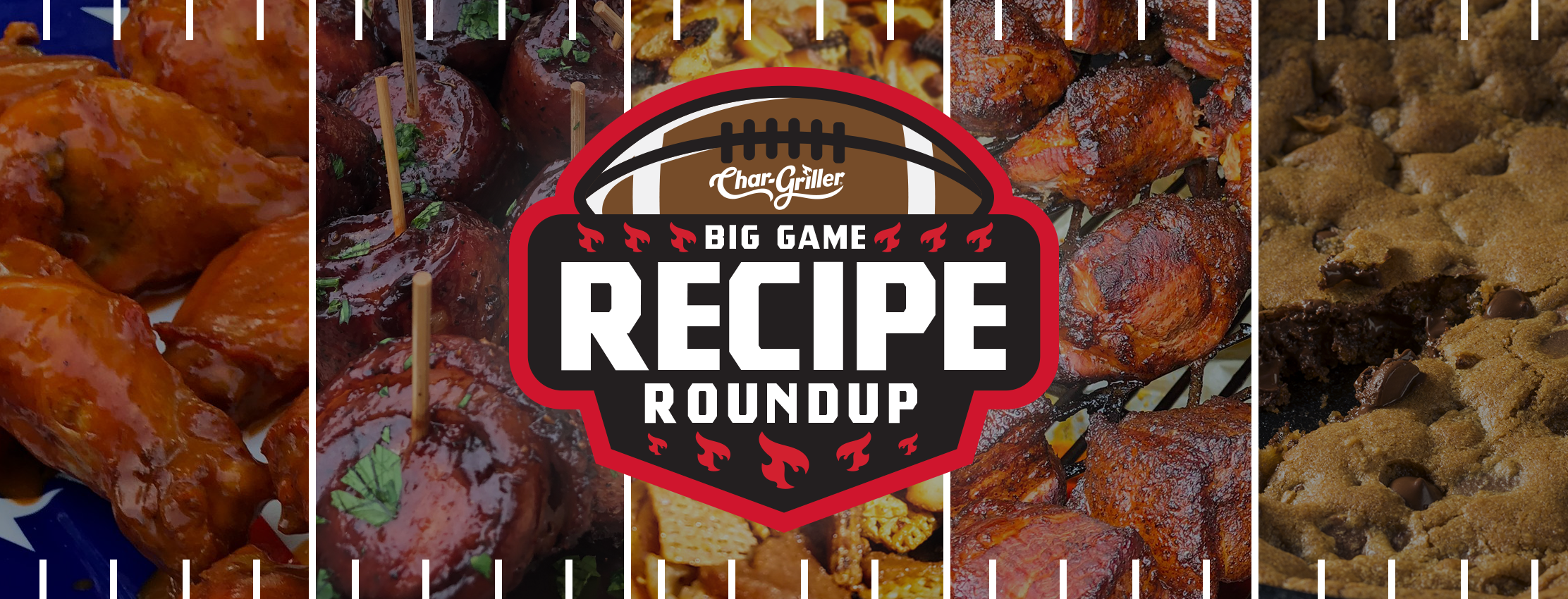 Big Game Recipe Round Up